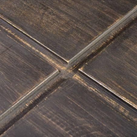 Sohvapöytä neliö Mangopuu Tummanruskea