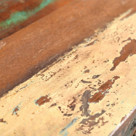 Sivupöytä 3 vetolaatikolla Kierrätetty puu