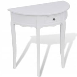 Puolipyöreä sivupöytä...