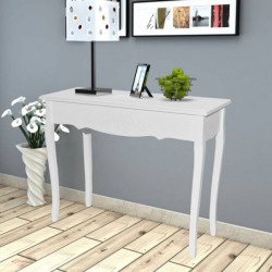 Sivupöytä Valkoinen
