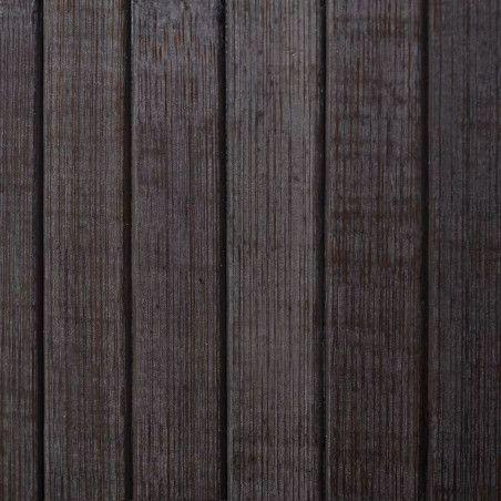 Tilanjakaja bambu 250x165 cm tummanruskea