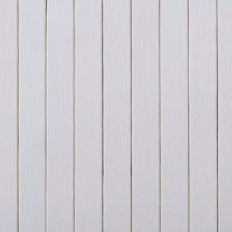 Tilanjakaja bambu 250x165 cm valkoinen