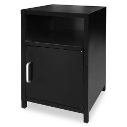 Yöpöytä 35x35x51 cm Musta
