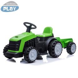 Traktori ja peräkärry 6V...