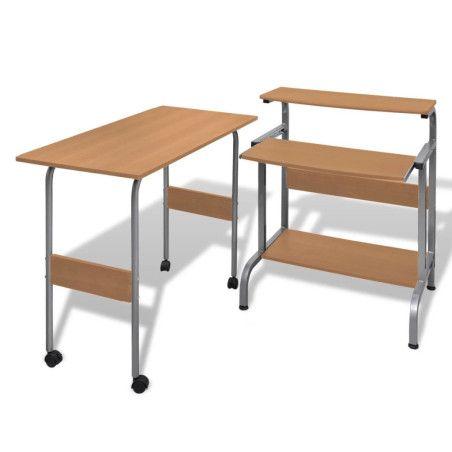 Tietokonepöytä Säädettävä Työasema, 3 eri väriä
