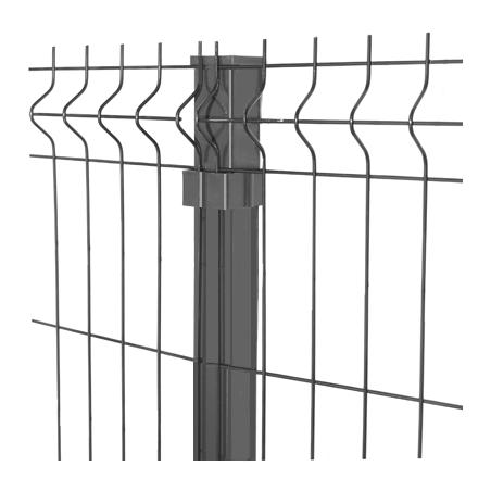 Harmaa Aitaelementti 3D 4mm, 5 eri korkeutta