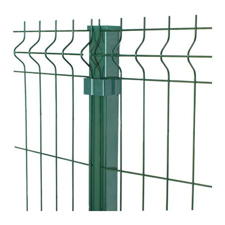 Vihreä Aitaelementti 3D 5mm, 4 eri korkeutta