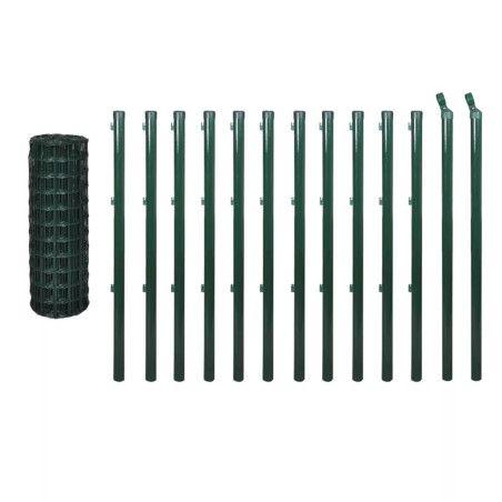 Euroaita teräs 25 x 1,0 m vihreä