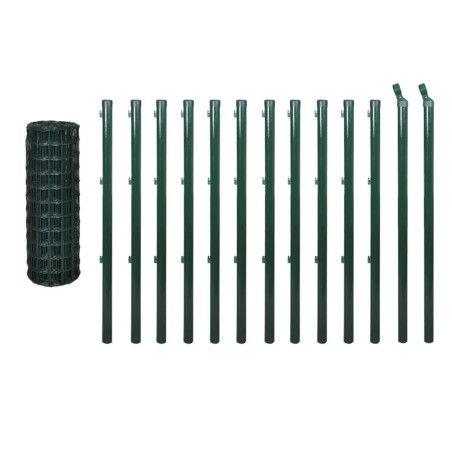 Euroaita teräs 25 x 1,2 m vihreä