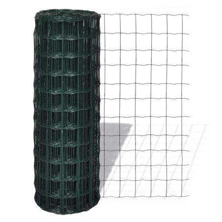 Euroaita teräs 10 x 1,5 m vihreä