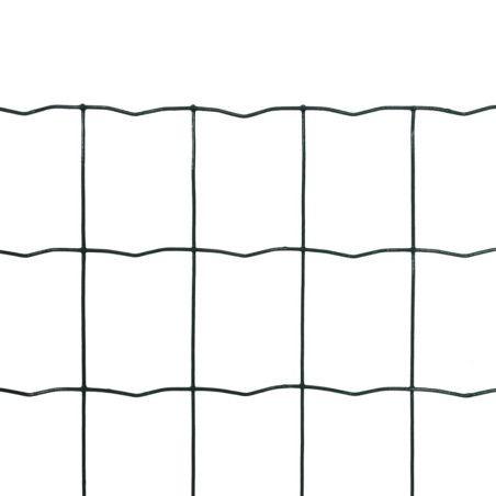 Euroaita teräs 10 x 0,8 m vihreä
