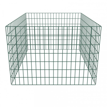 Puutarhan verkkokomposti neliö 100 x 100 x 70 cm
