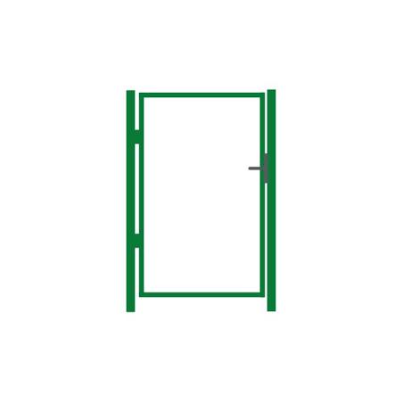 Vihreä Käyntiportin runko 1m, 5 eri korkeutta