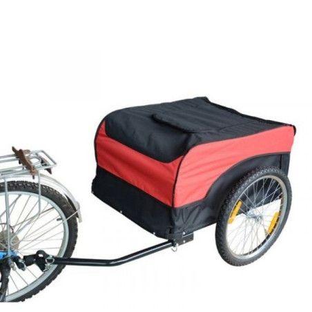 Pyöräilykärry, punainen