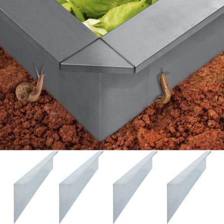 Etana-aitalevyt 4 kpl galvanoitu teräs 50x7x25 cm 0,7 mm