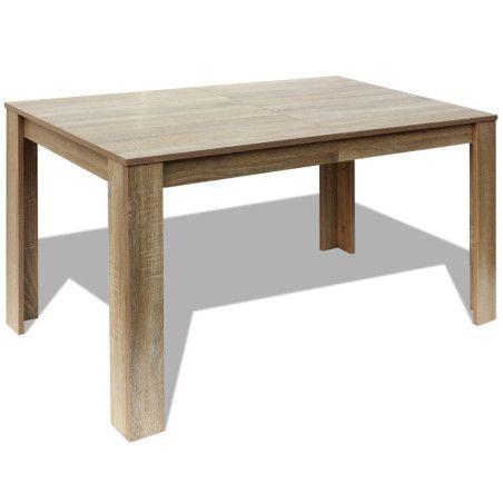 Ruokapöytä 140x80x75 cm Tammi