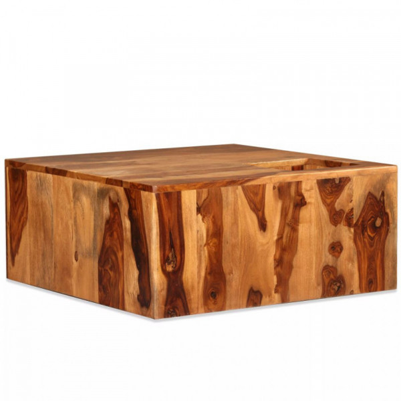 Sohvapöytä täysi seesampuu 70x70x30 cm