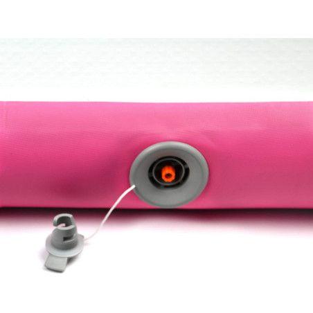 Air Track 800 x 100 x 10cm, pinkki