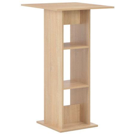 Baaripöytä tammi 60x60x110 cm