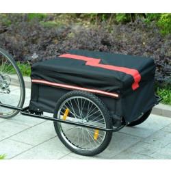 Pyöräilykärry (musta)