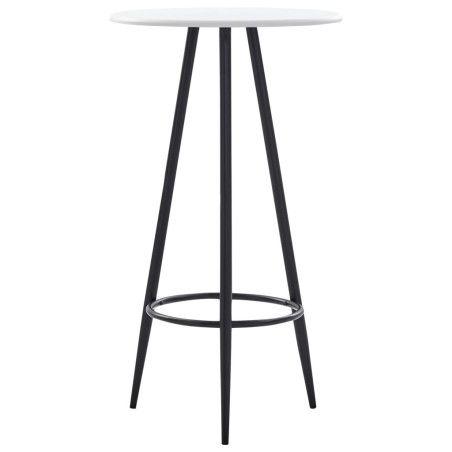 Baaripöytä valkoinen 60x107,5 cm MDF