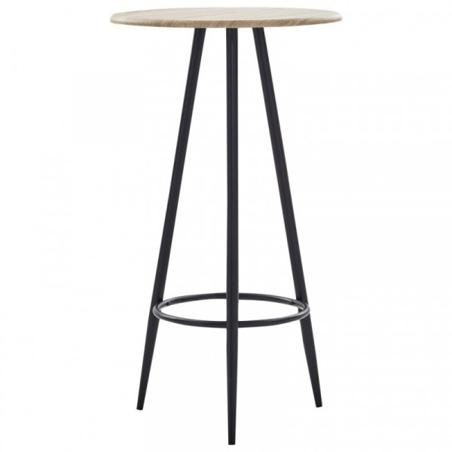 Baaripöytä tammi 60x107,5 cm MDF
