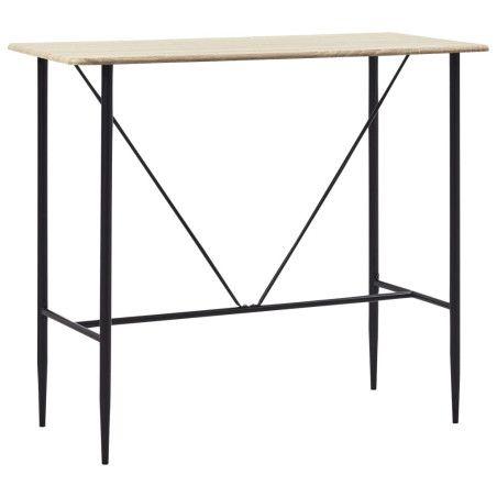 Baaripöytä tammi 120x60x110 cm MDF
