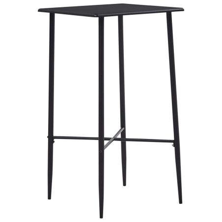 Baaripöytä musta 60x60x111 cm MDF
