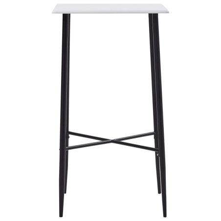 Baaripöytä valkoinen 60x60x111 cm MDF