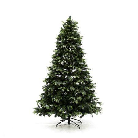 Joulukuusi PE/PVC -sekoite 210 x 142 cm ilman valoja