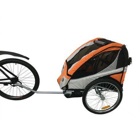 Polkupyörän peräkärry Oranssi