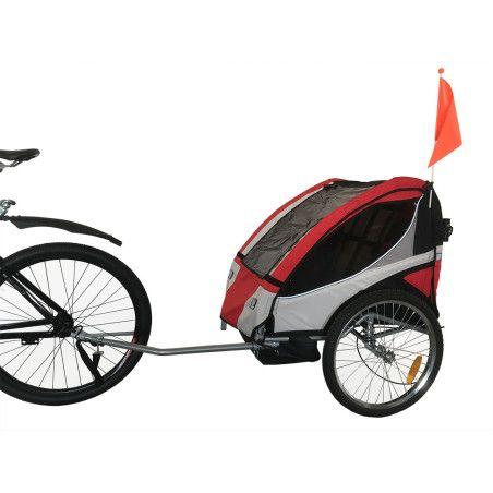 Polkupyörän peräkärry Punainen