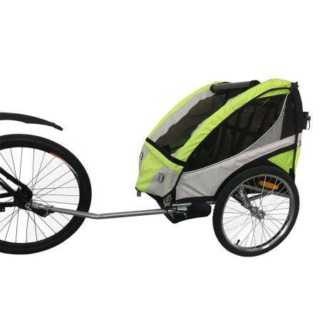 Polkupyörän peräkärry Vihreä