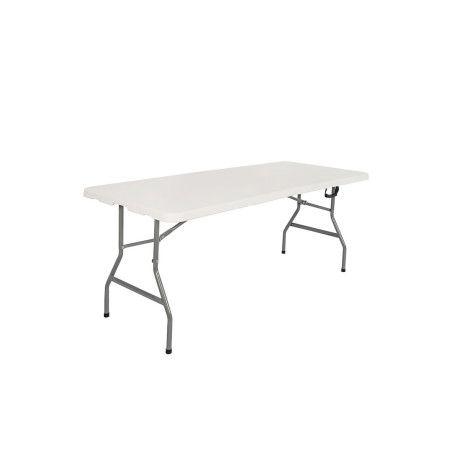 Taittopöytä 180x76x74cm, valkoinen