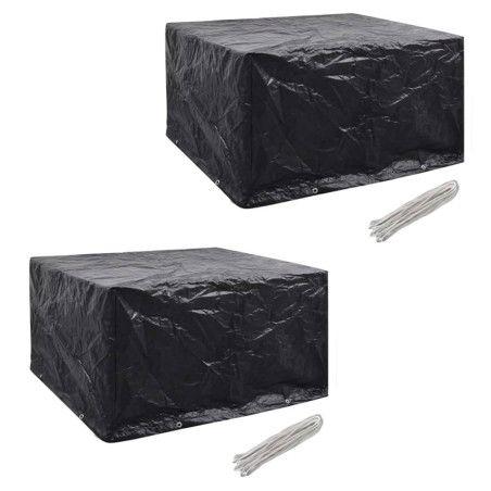 Puutarhakalustesuojat 2 kpl, 172x113 cm