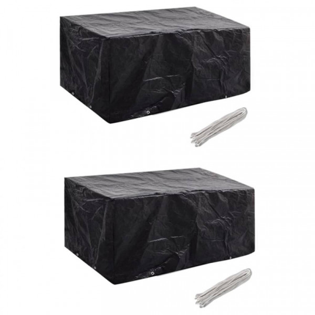 Puutarhakalustesuojat 2 kpl, 180x140 cm
