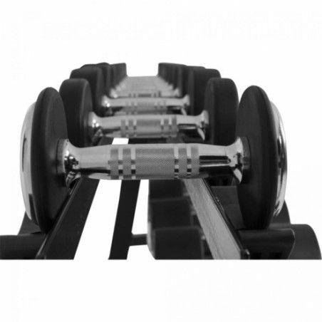 Käsipainot 2,5 kg - 35 kg + Teline