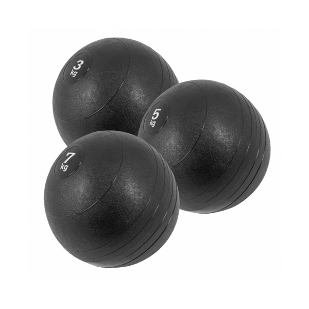 Slam Ball Setti 3 kg, 5 kg ja 7 kg
