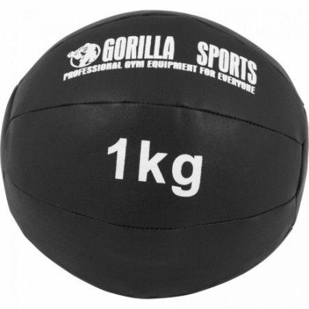 Wall Ball Kuntopallo Setti 1 kg - 5 kg