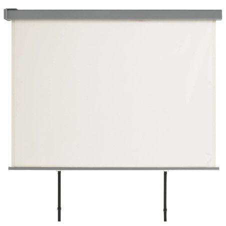 Parvekkeen sivumarkiisi monitoimintoinen 180x200 cm kerma