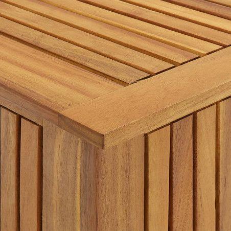 Puutarhan varastolaatikko 60x50x106 cm täysi akaasiapuu