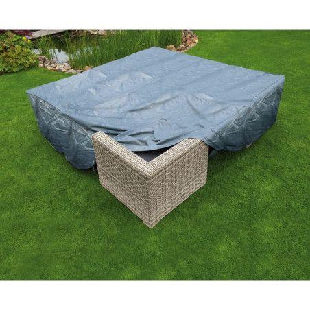 Nature Puutarhakalustesuoja pöydälle ja tuoleille 325 x 205 x 70 cm