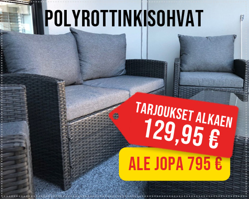Polyrottinkisohva tarjoukset